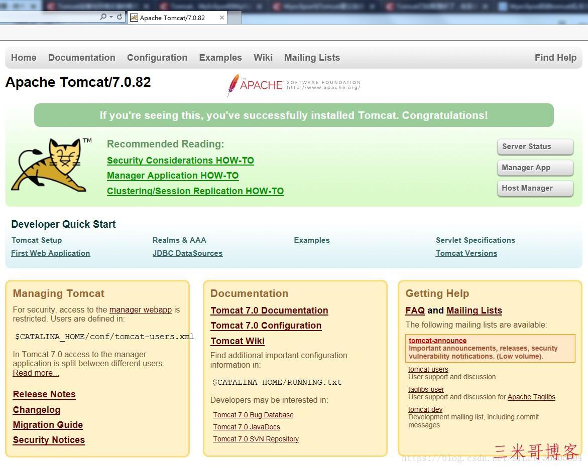 apache-tomcat在Windows下的安装配置  环境变量 bin apache-tomcat 第3张